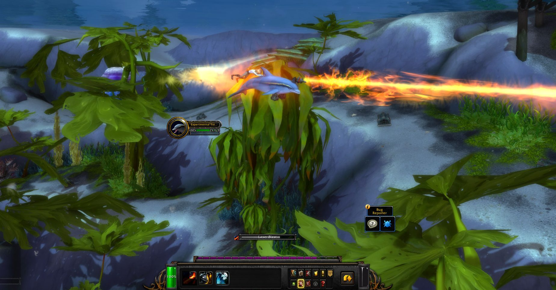 WoW Battle for Azeroth Laser Dolphin