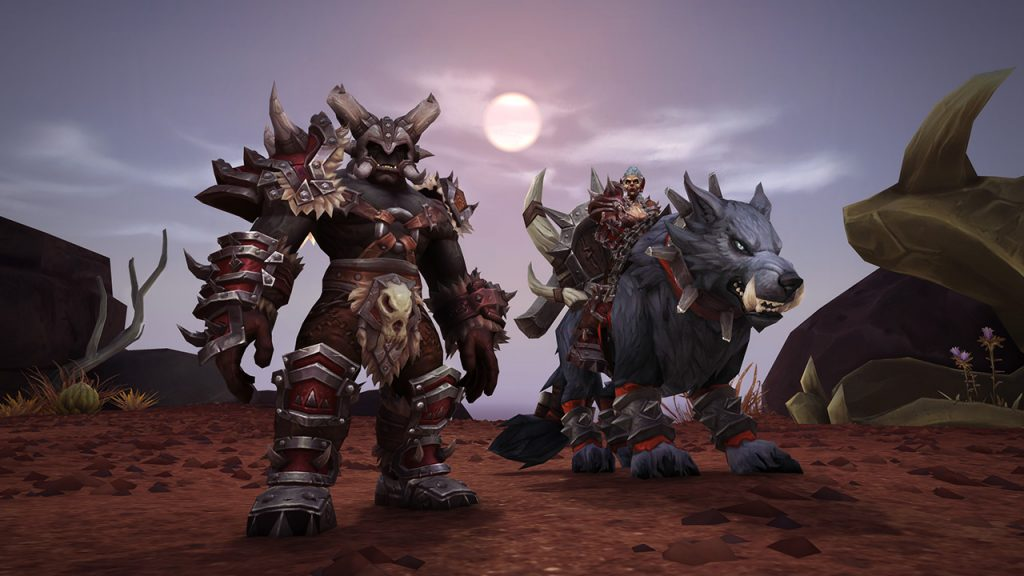 WoW Battle for Azeroth Maghar Mount und Rüstung