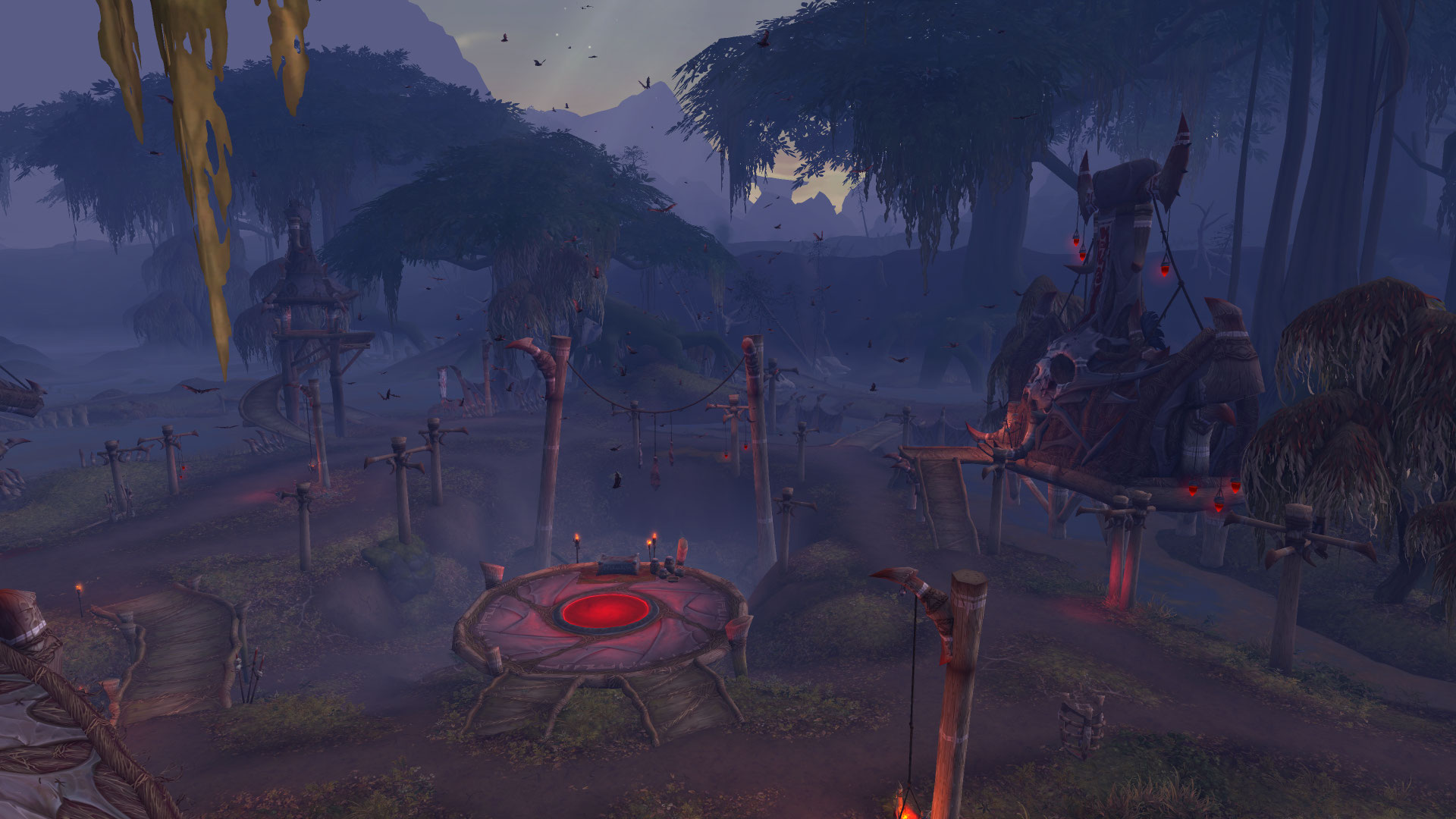 WoW BfA Blood Troll Village