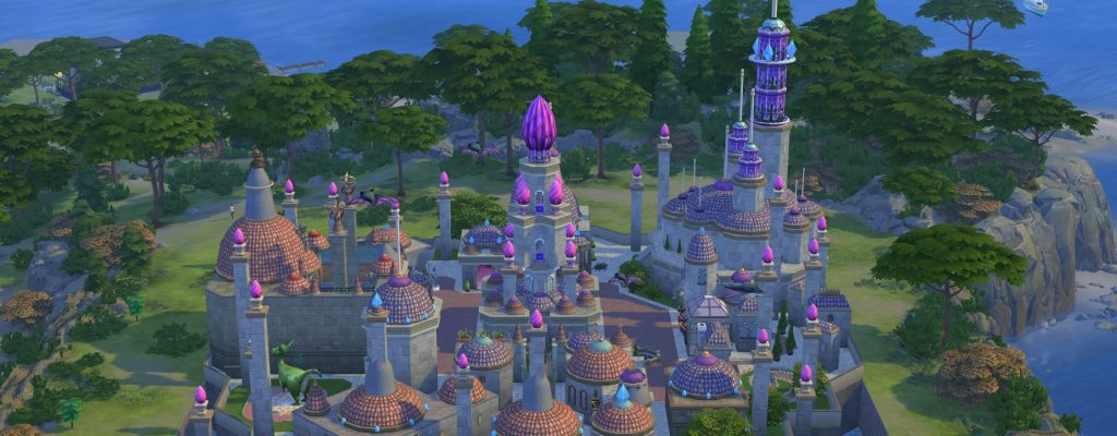 Fan baut WoW-Stadt Dalaran komplett in The Sims 4 nach