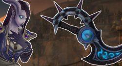 WoW Xalatath Artifact Draenei title