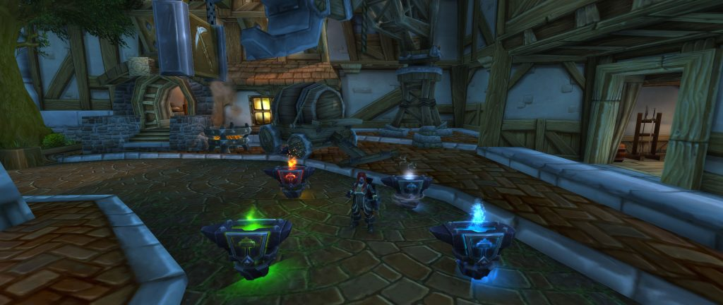 World of Warcraft Battle for Azeroth Dunkeleisenzwerg Schamane Amboss