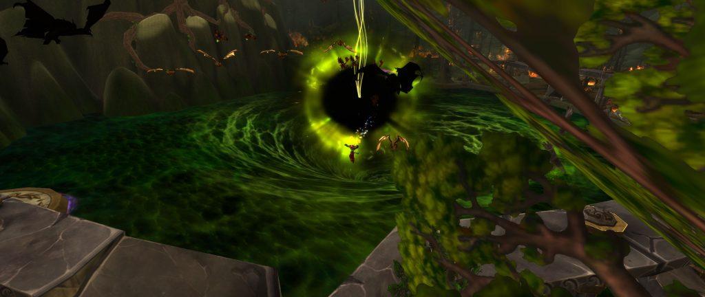 World of Warcraft Brunnen der Ewigkeit Instanz verdorben