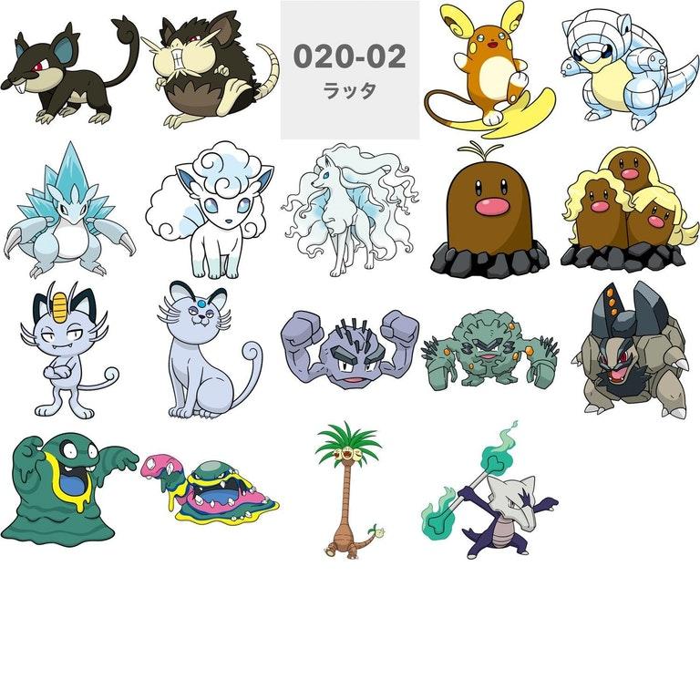 Pokémon GO Alola Formen