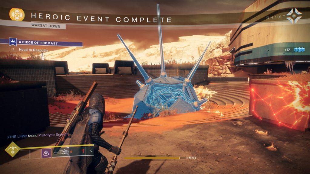 Destiny 2 WarSat heroisch