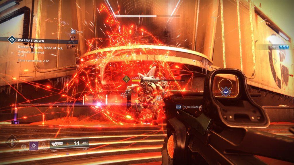 Destiny 2 WarSat heroisch Oger