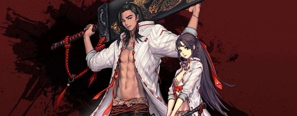 Neue Klasse in Blade & Soul ist ein Schwert, an dem ein Krieger hängt