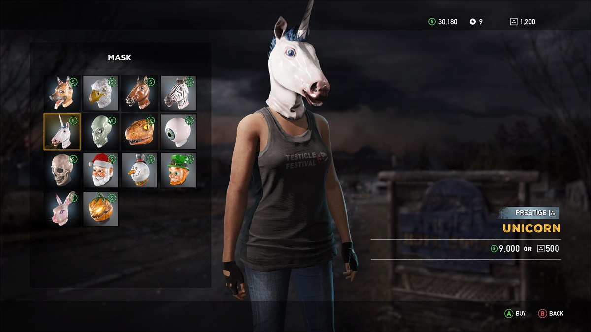 Far Cry 5 Einhorn