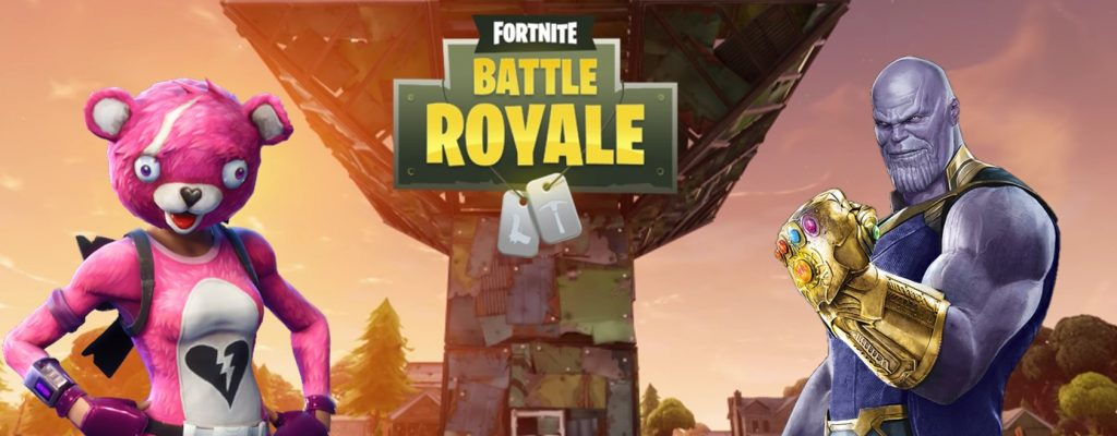 Fortnite – Server offline zur Wartung, Update 4.1 bringt Thanos im Mashup!