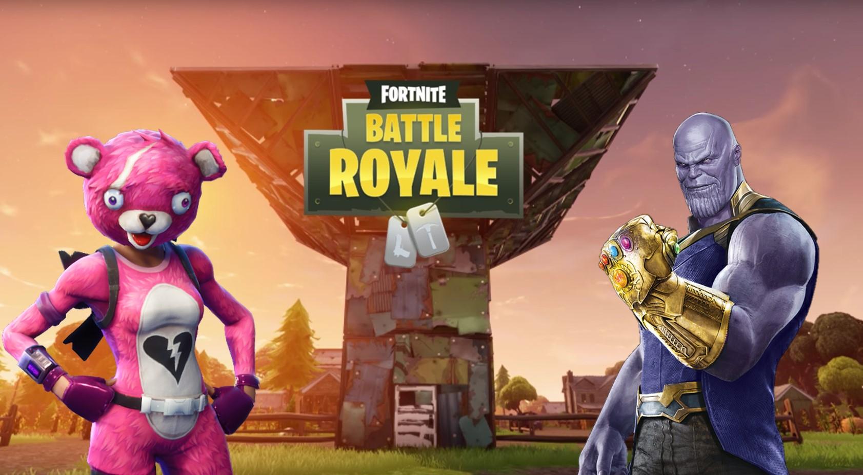 Fortnite Server Offline Zur Wartung Update 4 1 Bringt Thanos Im