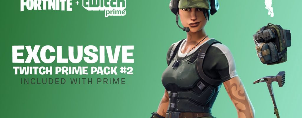 Fortnite: Neues Twitch Prime Loot Pack ist da! So gibt's die Skins