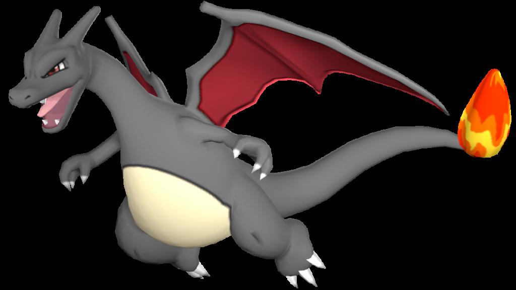 Shiny Glurak Pokémon