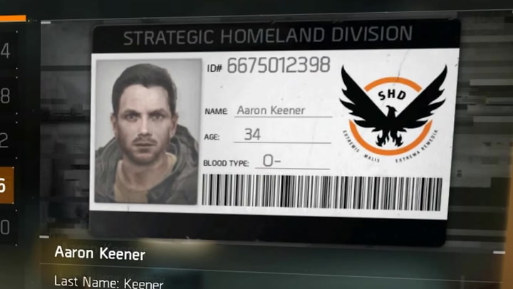 the division aaron keener