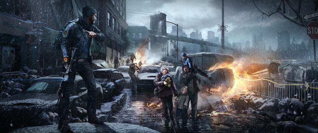 the division ubisoft artwork