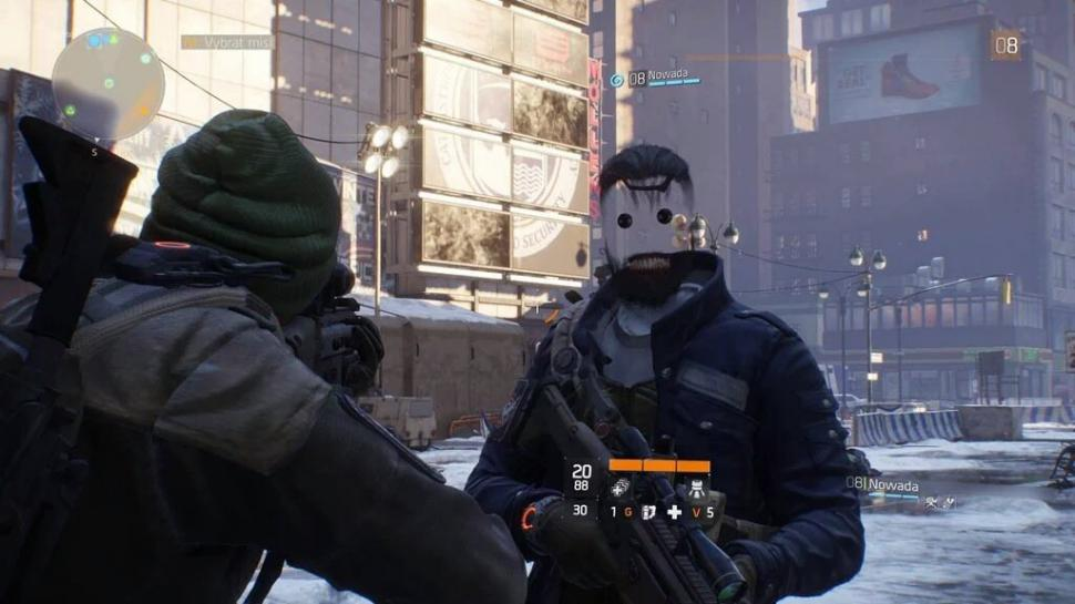 the division face glitch