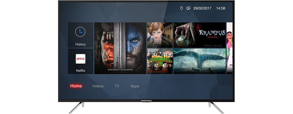 Amazon Blitzangebote am 14. Mai – Thomson 55 Zoll UHD-Fernseher