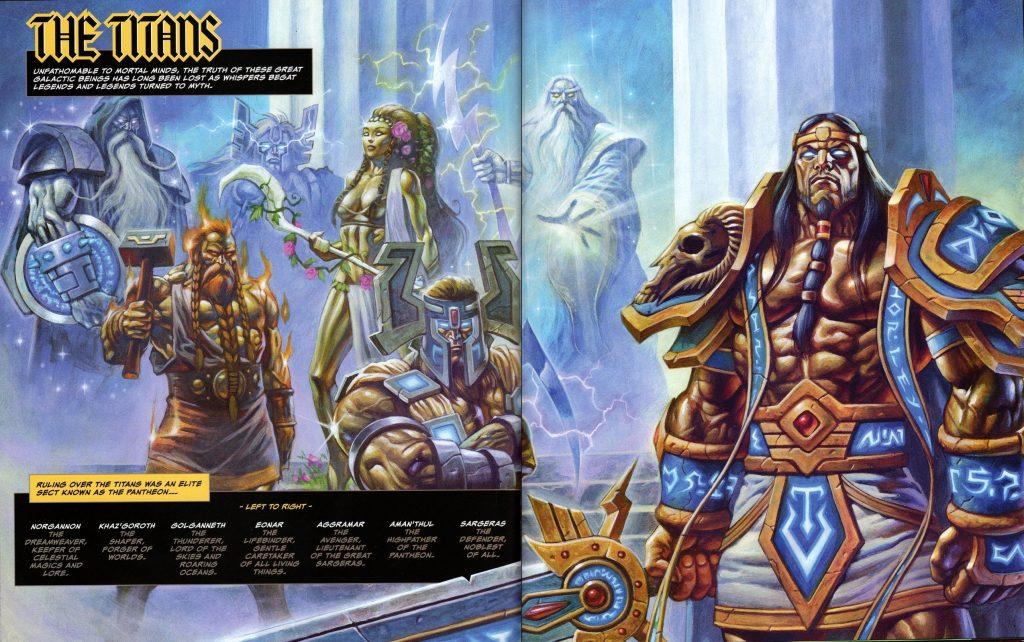 world of warcraft RPG die Titanen Sargeras unverdorben