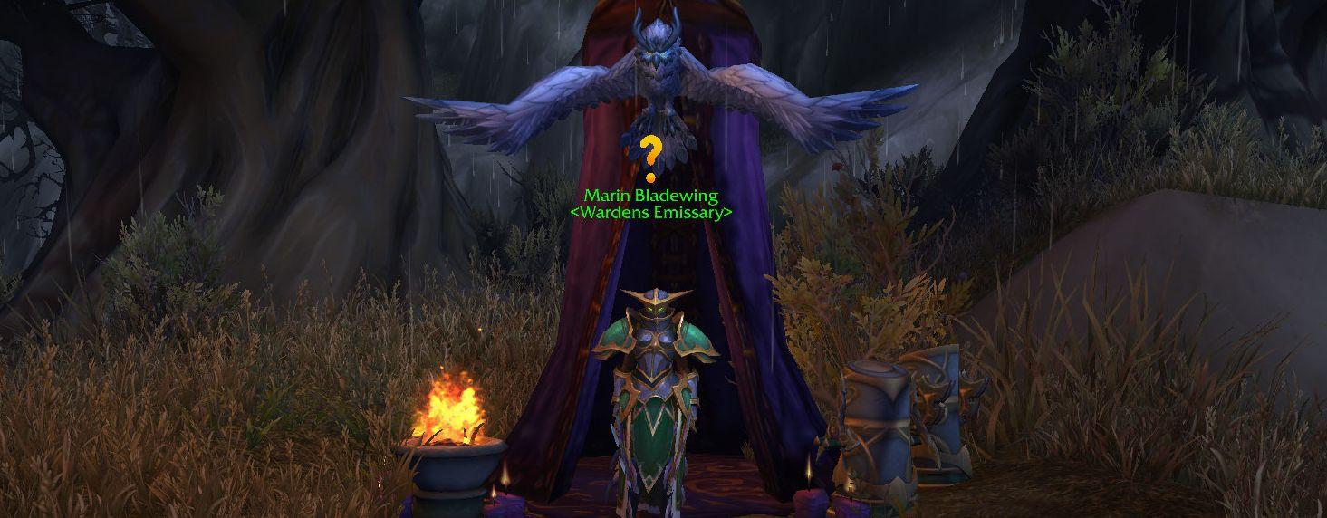 wow legion screenshot warden emissary weltquest