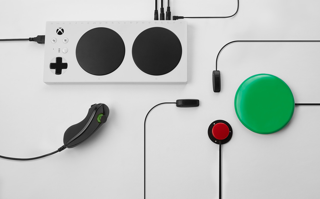 Xbox Adaptive Controller Erweiterungen