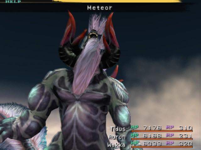 final fantasy x behemoth meteor