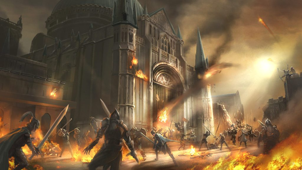 Ashes of Creation City Siege Artwork