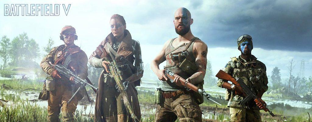 Battlefield 5 Gruppe TItel