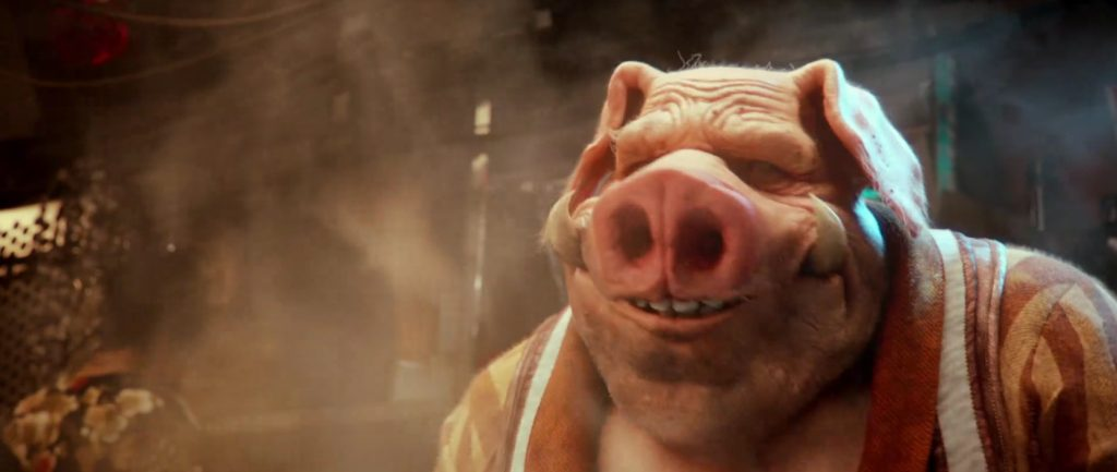 Beyond Good and Evil 2 Pighybrid smile cook
