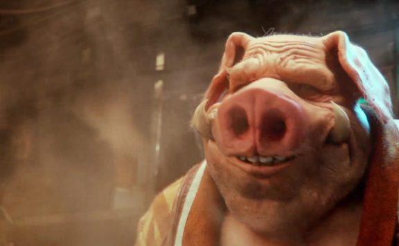 Beyond Good and Evil 2 Pighybrid smile cook