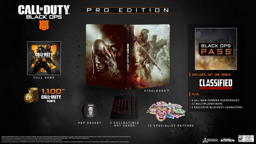 Black Ops 4 Pro Edition