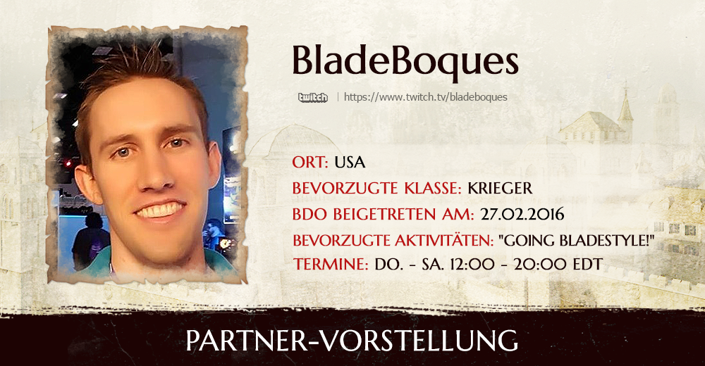 Blade Bosque Partner