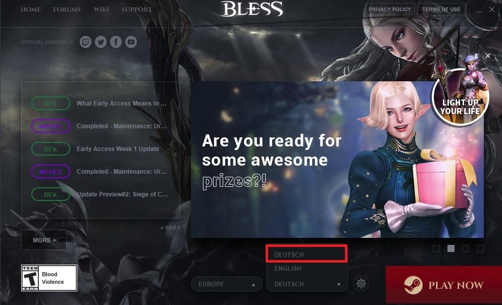 Bless Online Deutsch