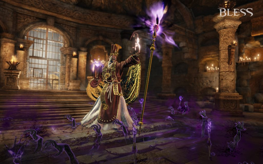 Bless Online Mausoleum_of_the_Wise_Ones_Lich_Tiberius