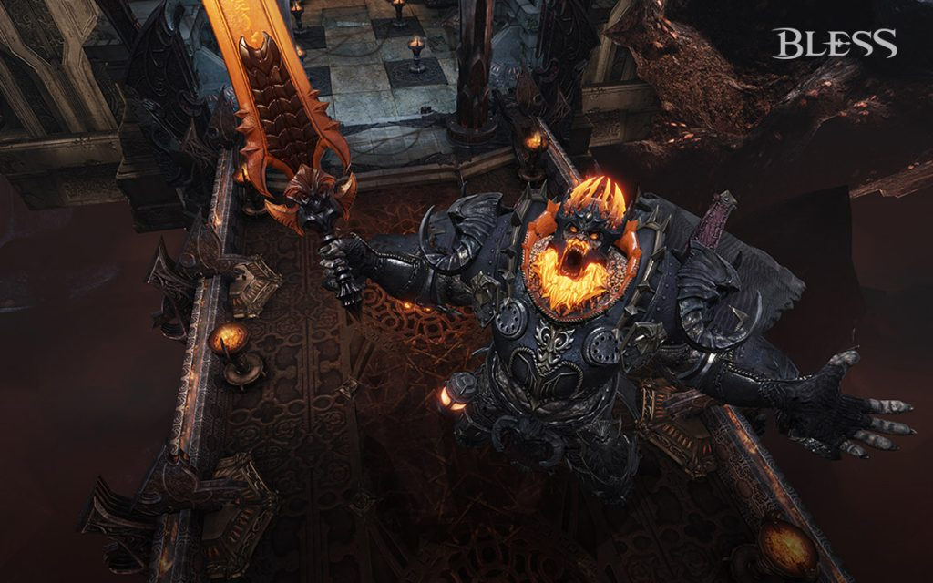 Bless Online Nigra Turris Flame Lord Flogas