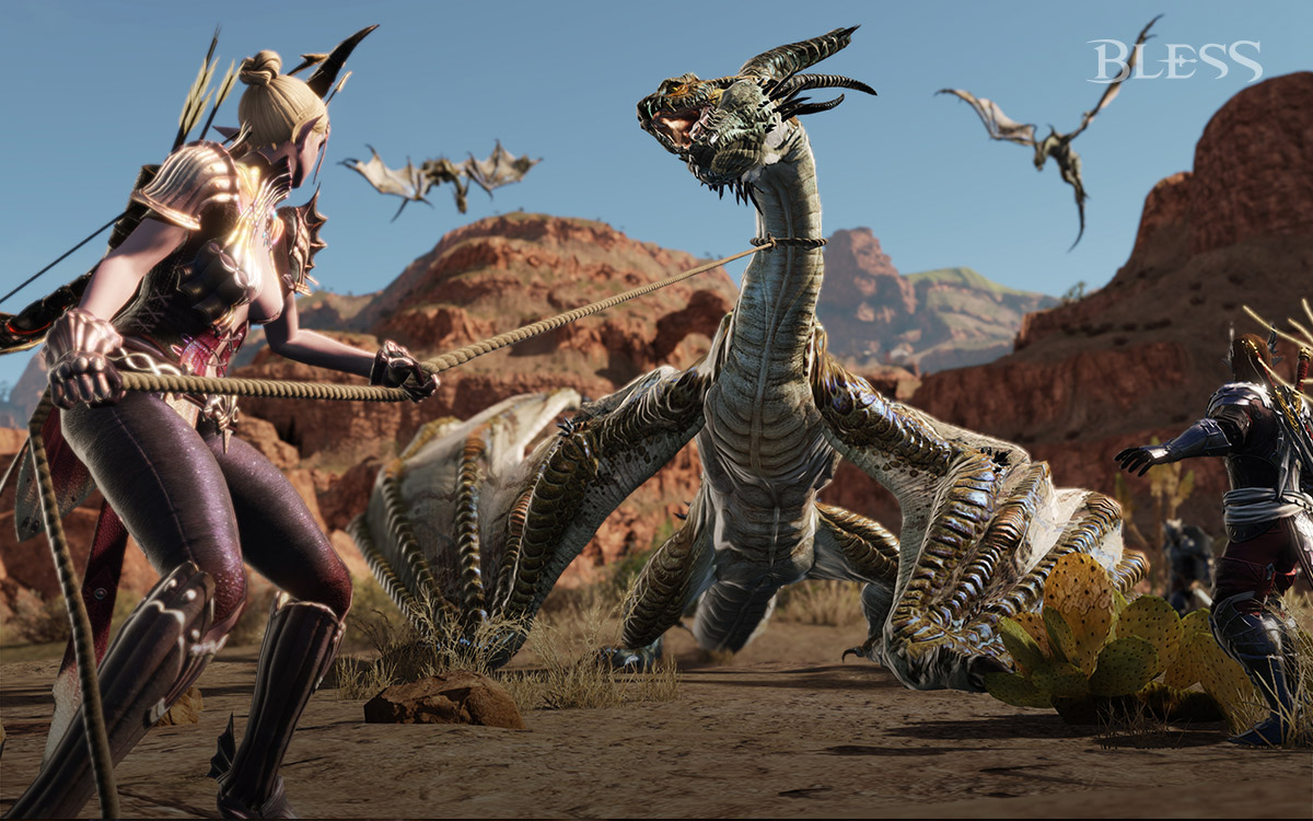 Bless Online Tame the World