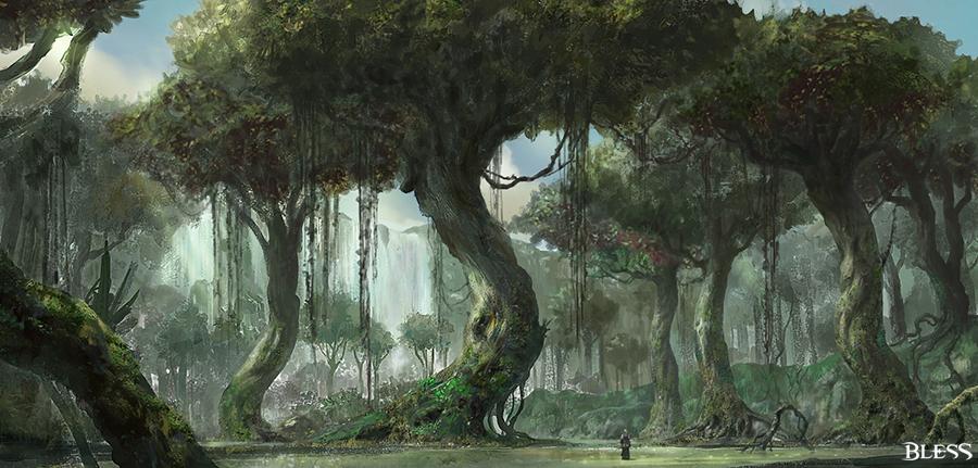 Bless Online Wald
