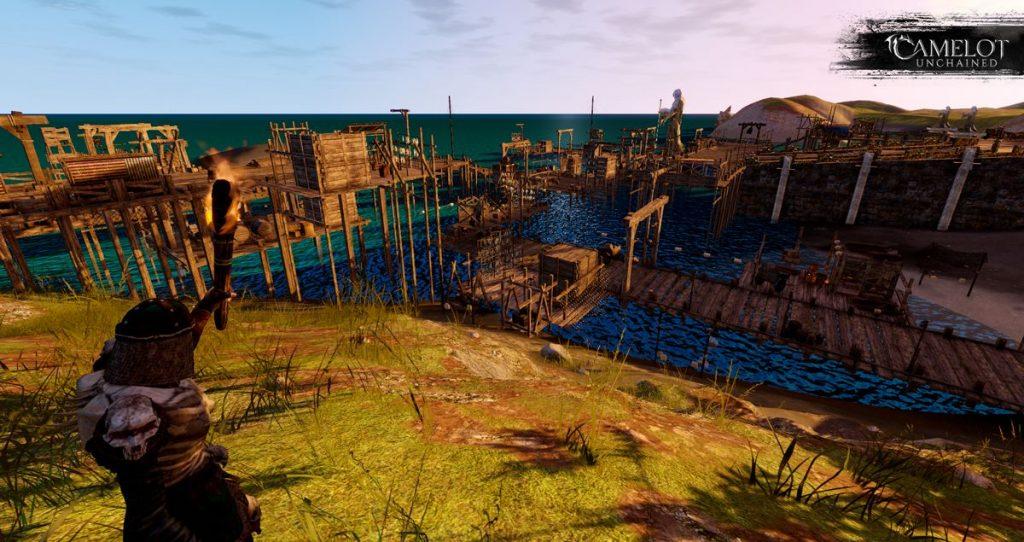 Camelot Unchained Alpha Docks Screenshot