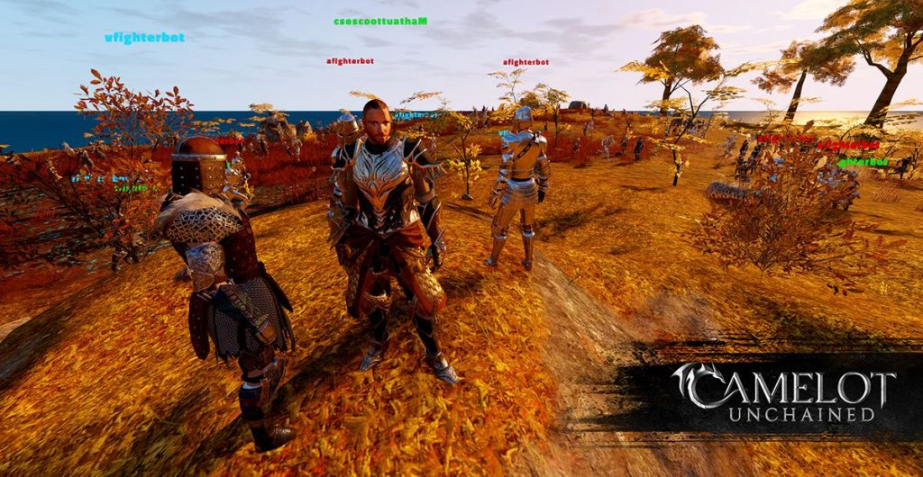 Camelot Unchained Screenshot Spieler und Bots