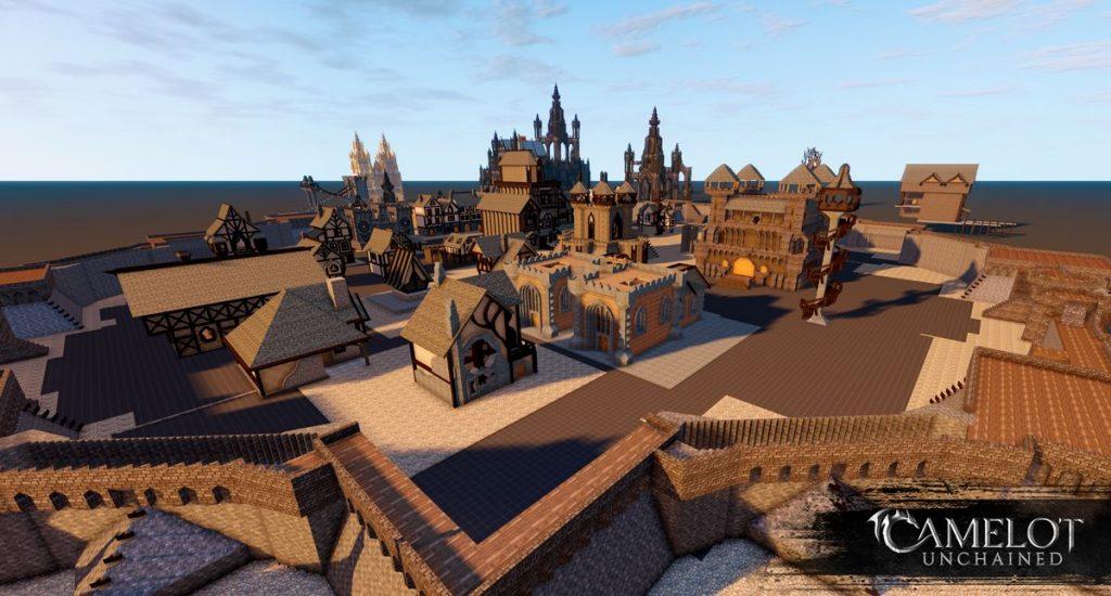 Camelot Unchained großes Bauprojekt Screenshot