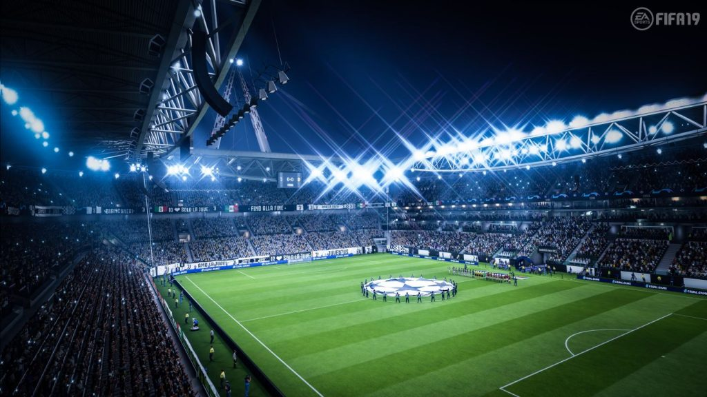 Champions League FIFA 19 Stadion