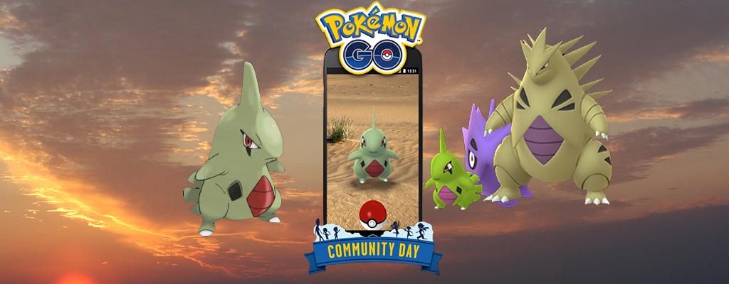 Pokémon GO: Alle Infos zum Community Day im Juni mit Larvitar