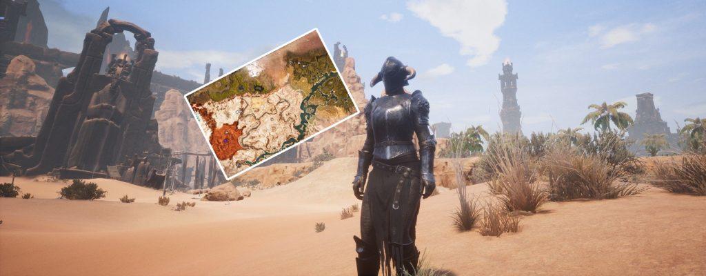 Conan Exiles: So findet Ihr die Obelisken – Karten und Standorte