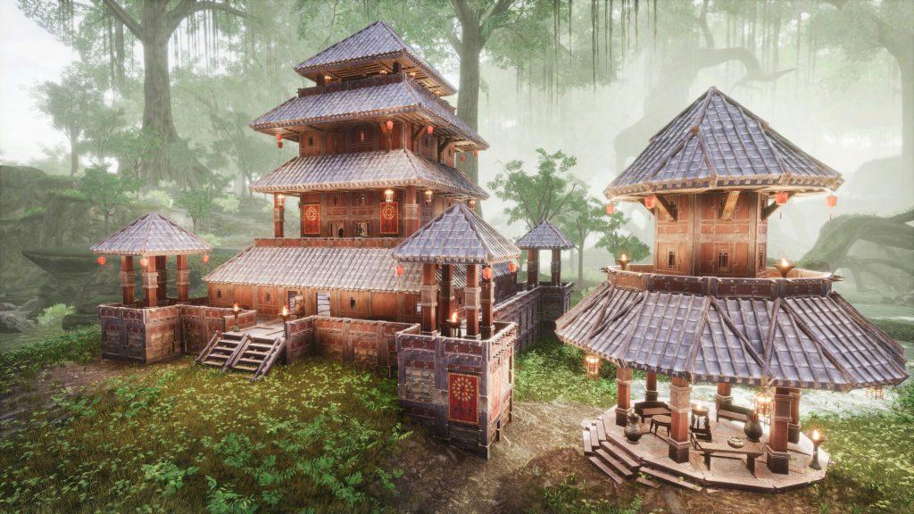 Conan Exiles Khitan DLC Gebäude