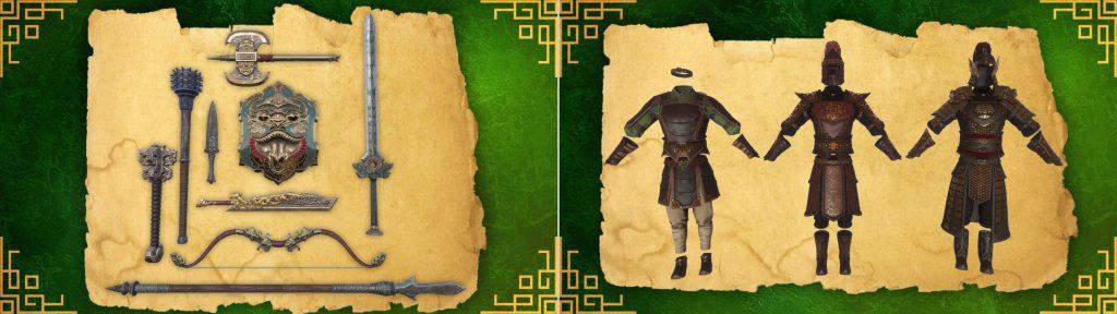 Conan Exiles Khitan DLC Waffen und Rüstungen
