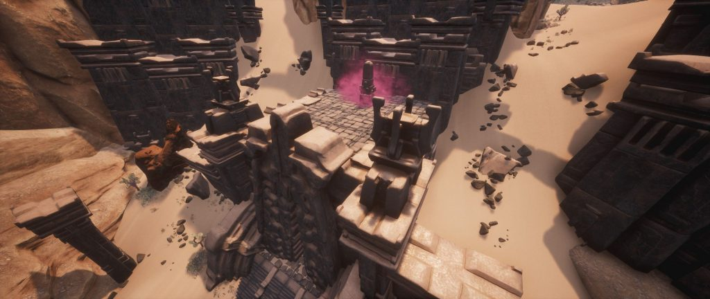 Conan Exiles Obelisk bei den Abschaumtiefen