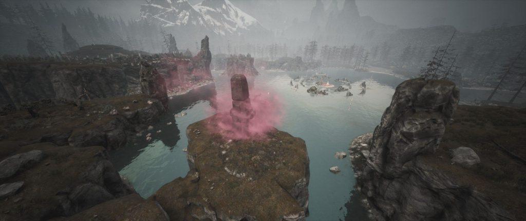 Conan Exiles Obelisk bei den Hügeln der Toten