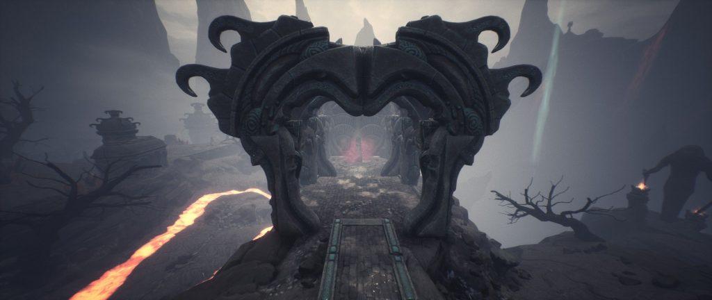 Conan Exiles Obelisk beim Vulkan