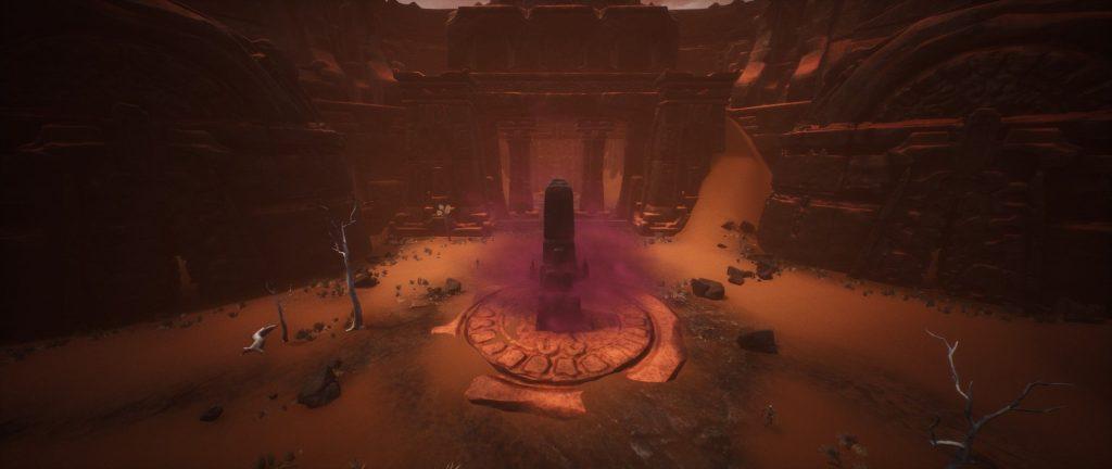 Conan Exiles Obelisk in der verlorenen Stadt