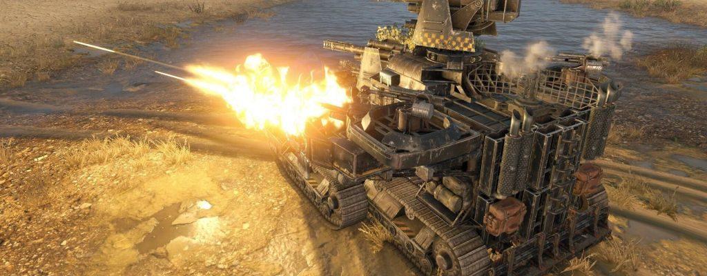 Crossout: So verrückt sieht ein Mega-Raid in einem Fahrzeug-MMO aus