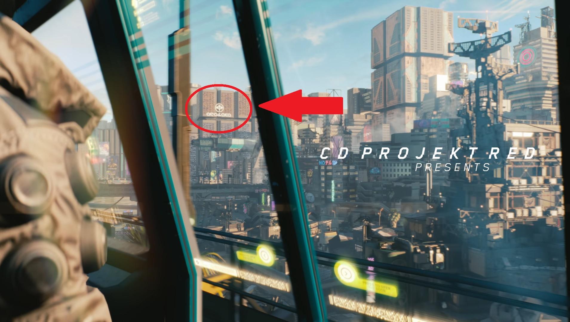 Cyberpunk 2077 Arasaka Logo