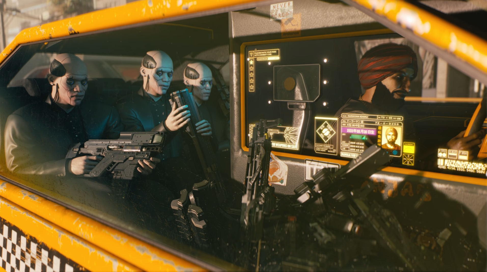 Cyberpunk 2077 Combat Cab